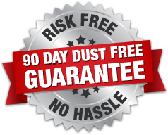 Dust Control Services Troy MI - Indoor Air Quality - Power Vac - seal