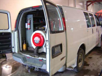 Our Duct Cleaning Process Auburn Hills MI | Power Vac - scam-van